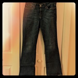 Lucky Brand dark blue jeans boot cut flares 8/29